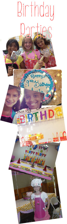 Birthday Parties With ABC Chefs