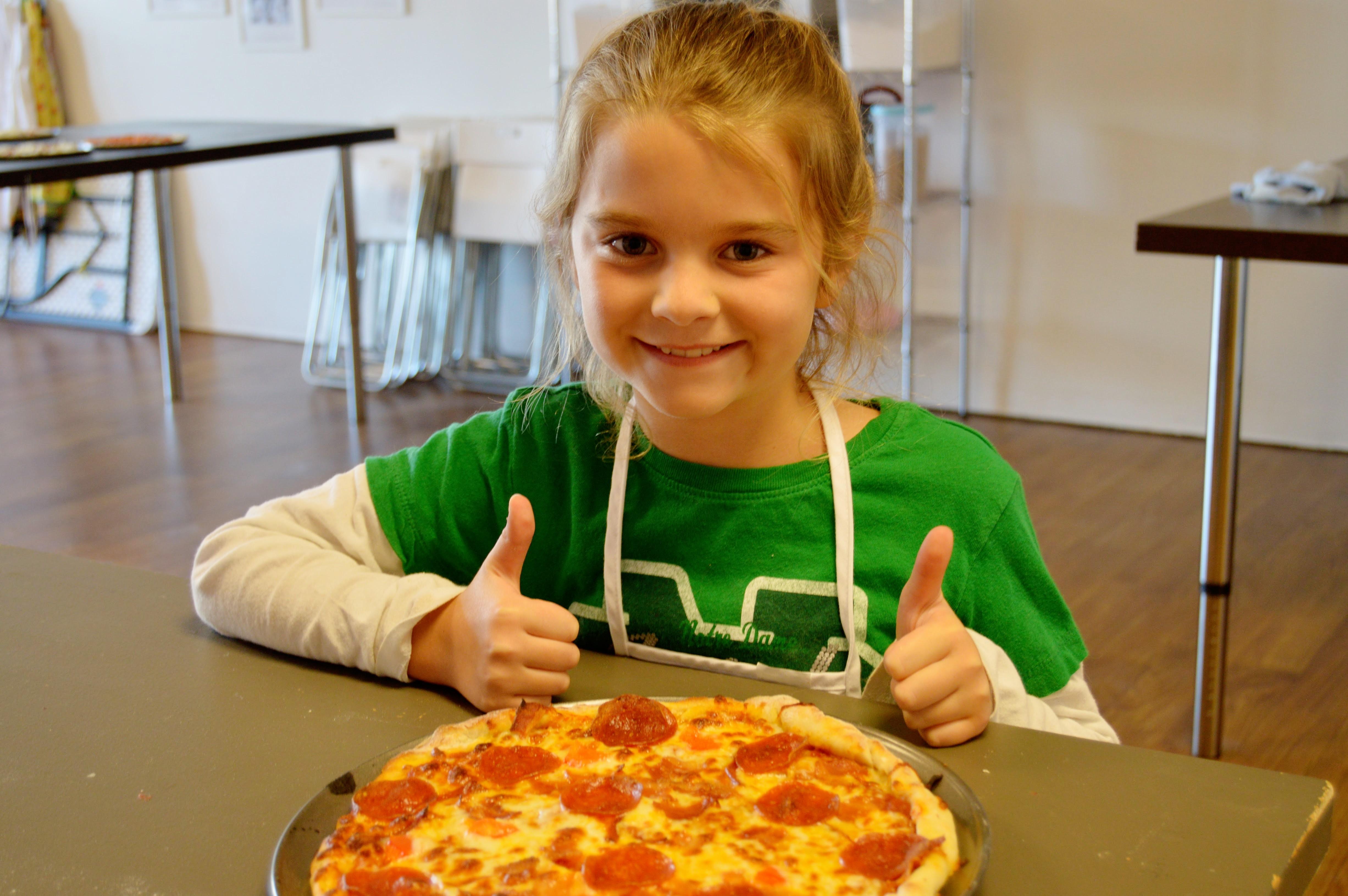 Pizza is ready at faronda davis