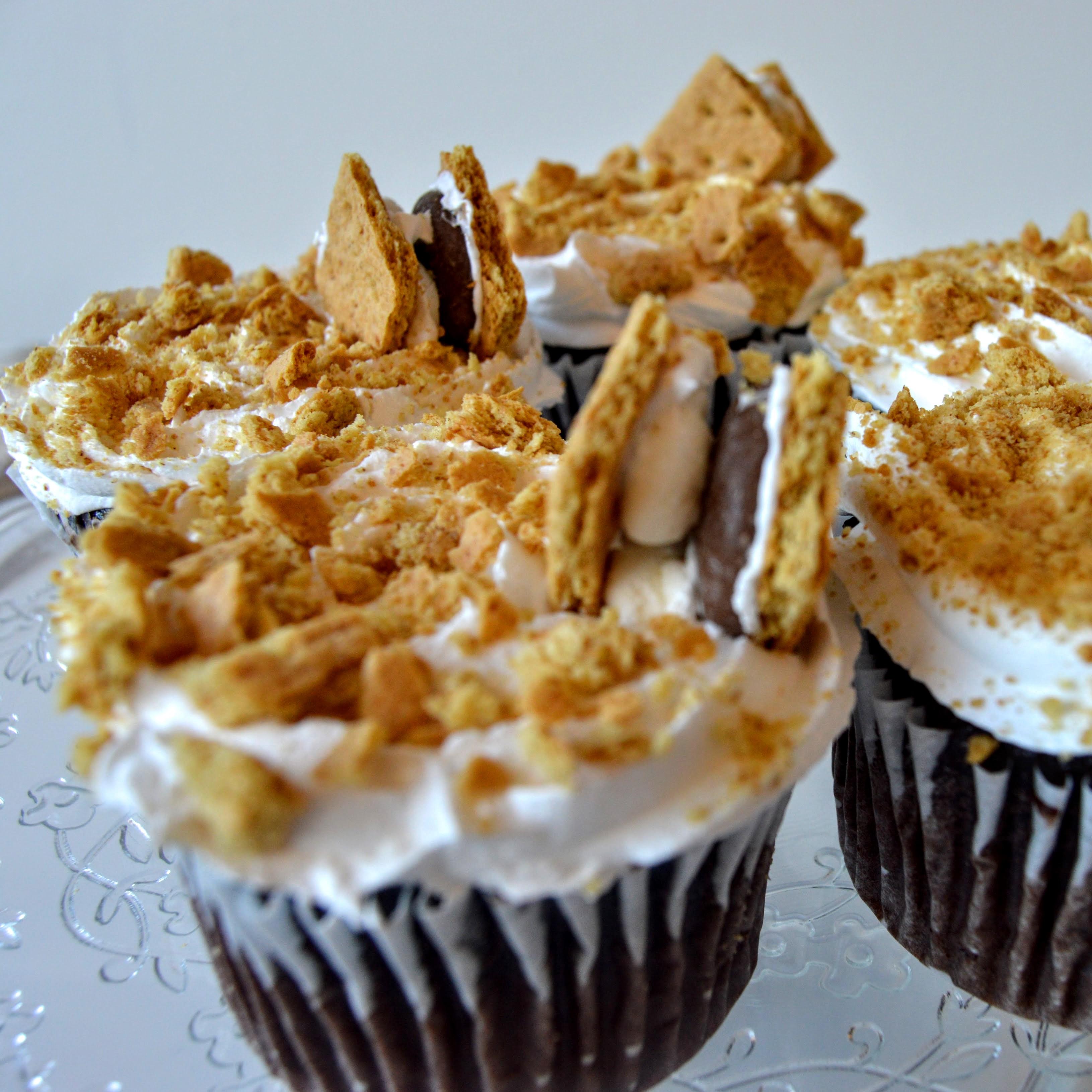 s'more cupcakes by faronda davis